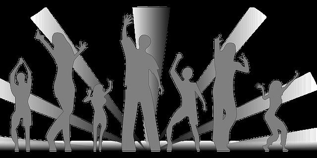 Táncoló fiatalok